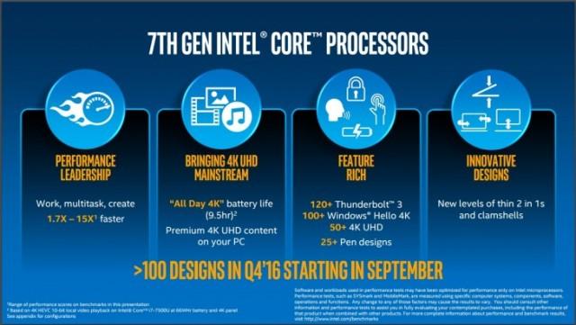 Prosesor Generasi Ke-7 Intel (Kaby Lake)