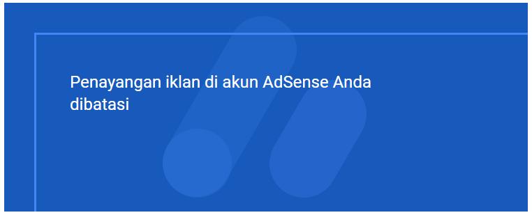 """Cara Jitu Mengatasi Iklan AdSense Dibatasi Karena  """"Traffic Tidak Valid"""""""