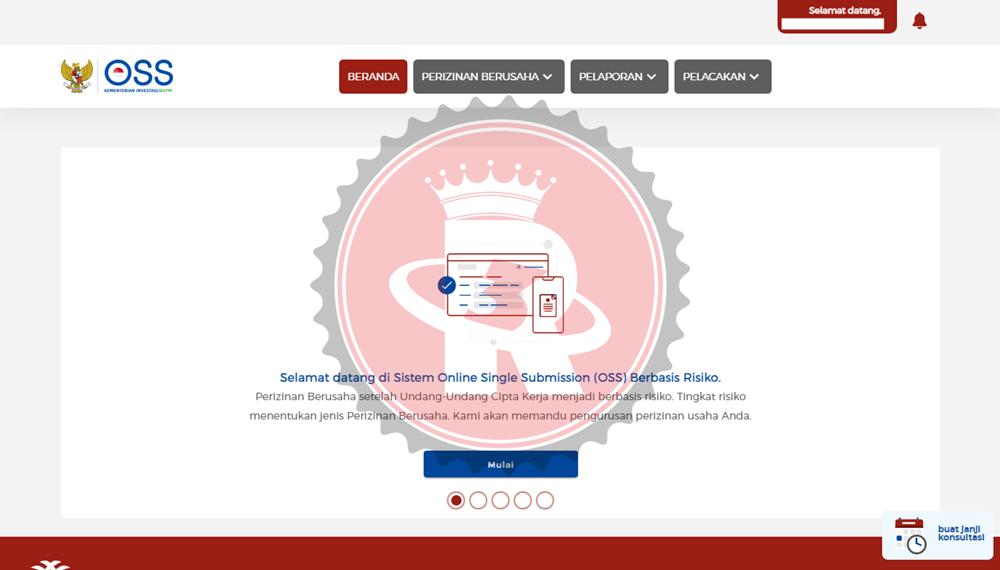 Langkah Mudah Registrasi Akun OSS Secara Online
